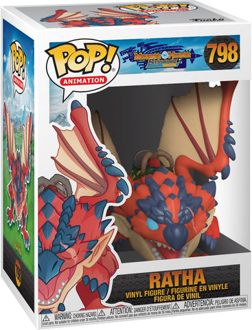 Funko Pop! Animation: Monster Hunter - Ratha