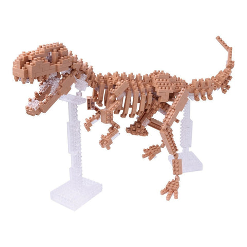 Nanoblock Advanced Hobby Series T-Rex Skeleton Model