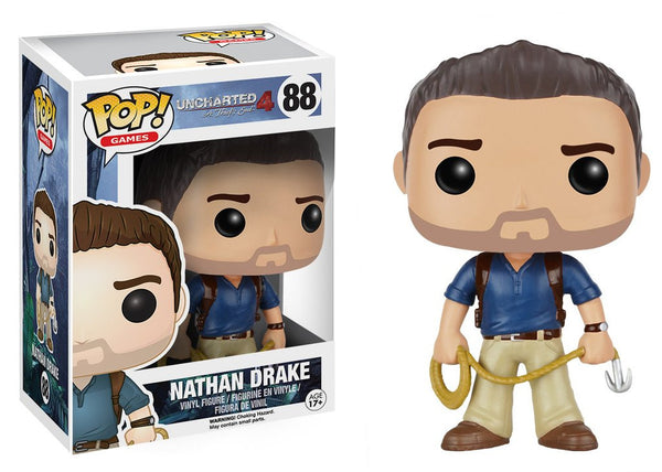 Funko POP! Uncharted 4 Nathan Drake