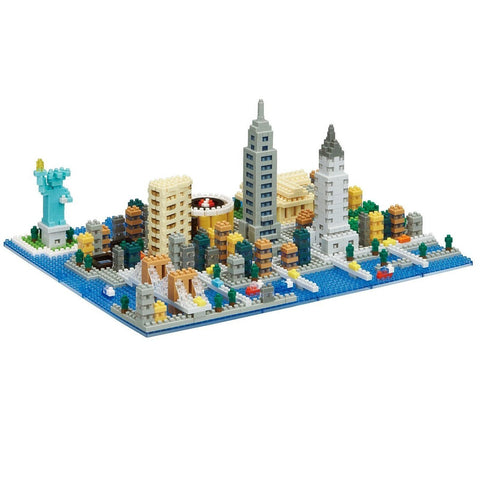 Nanoblock New York 1480pcs NB-033