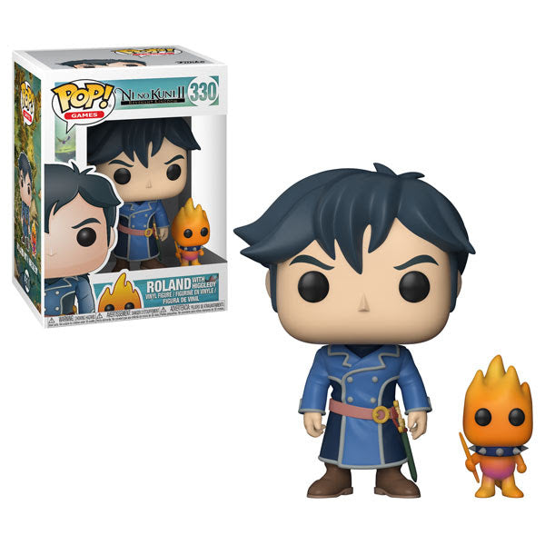 Funko POP! Games: Ni No Kuni II - Roland with Higgledy