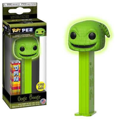 Funko Pop! PEZ: Nightmare Before Christmas - Oogie Boogie Glow in the Dark
