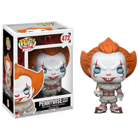 Funko Pop! Movies: IT - Pennywise with Boat