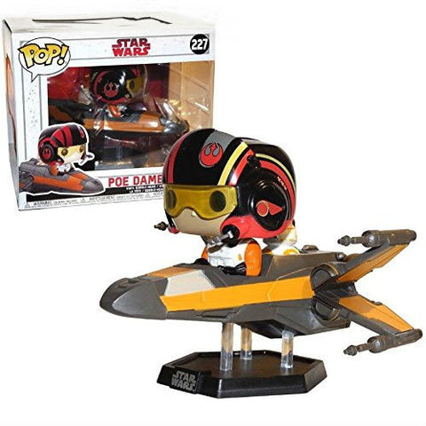 Funko Pop! Rides: Star Wars - Poe Dameron with X-Wing Exclusive (Buy. Sell. Trade.)