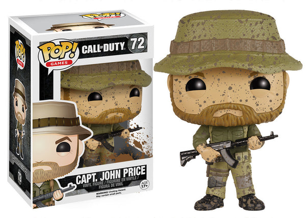 POP! Games Call of Duty Capt. John Price
