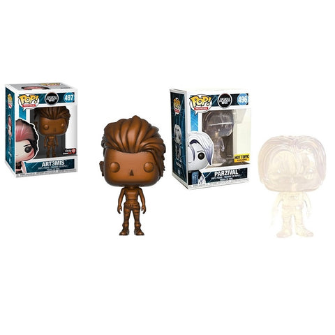 Funko Pop! Movies: Ready Player One Parzival Hot Topic and Art3mis GameStop Exclusive Set (Buy. Sell. Trade.)