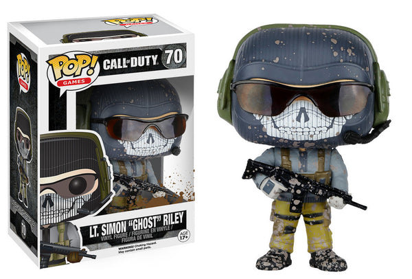 "POP! Games Call of Duty Lt. Simon ""Ghost"" Riley"