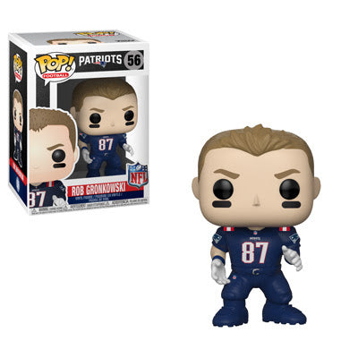 Funko POP! Football: NFL Patriots - Rob Gronkowski