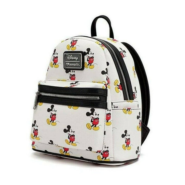Loungefly Mickey Mouse All Over Print Mini Backpack
