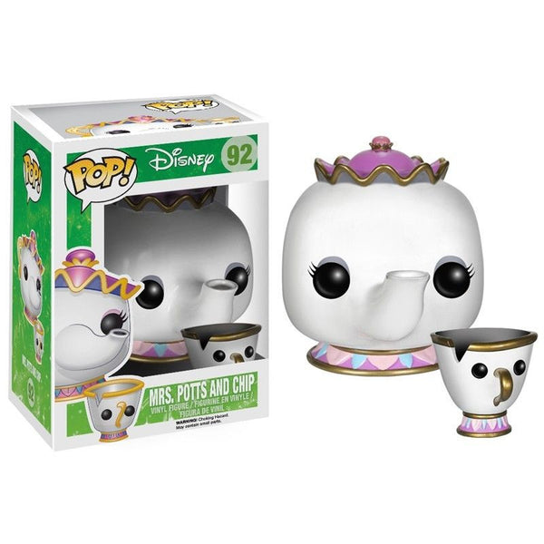 Pop!  Disney Vinyl Beauty and the Beast Mrs. Potts & Chip