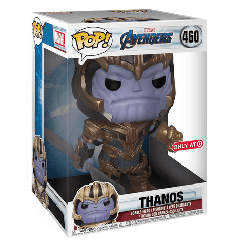 Funko Pop! Marvel: Avengers Endgame - Thanos 10' inch Target Exclusive ( Buy. Sell. Trade)