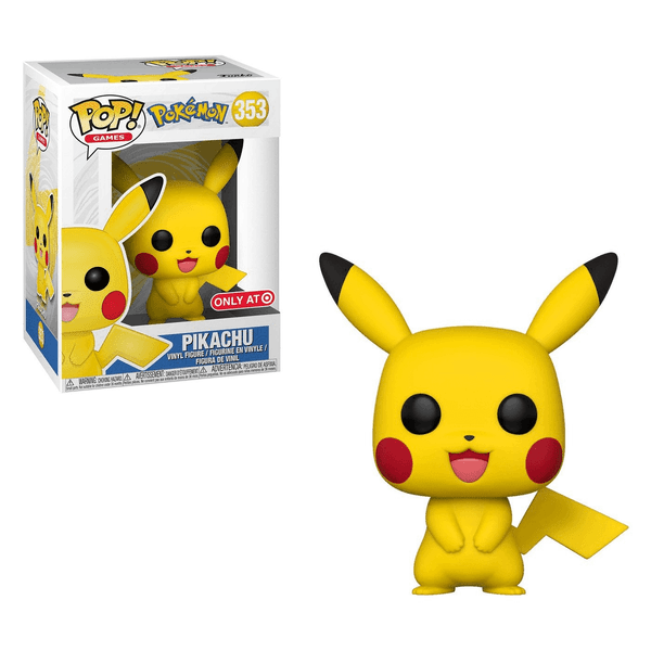 Funko POP Pokemon: Pikachu 353 Target Exclusive (Buy. Sell. Trade.)