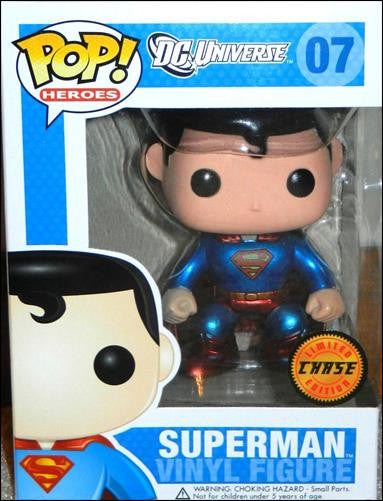 Pop! Heroes Vinyl Superman Chase