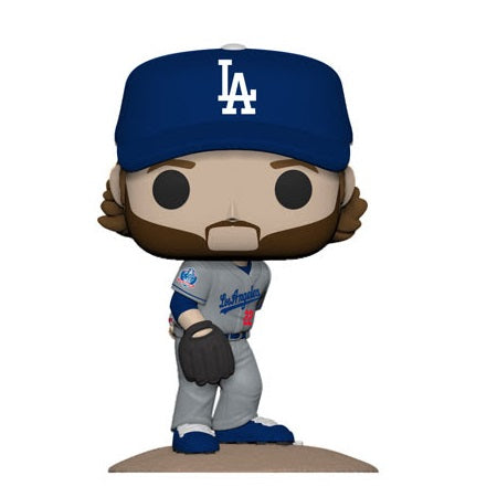 Funko Pop! MLB Dodgers Clayton Kershaw Road Uniform(Coming Soon)