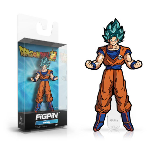 FiGPiN MiNis Dragon Ball Super SSGSS Goku (Coming Soon)