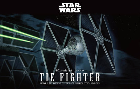 Bandai Hobby Star Wars Tie Fighter 1/72 Scale Model Kit