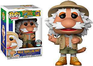 Funko Pop! Television Fraggle Rock Traveling Matt