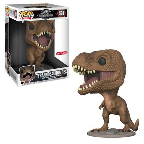 "Funko Pop! Movies: Jurassic World: Falling Kingdom - Tyrannosaurus Rex 10"" Target Exclusive (Buy. Sell. Trade.)"