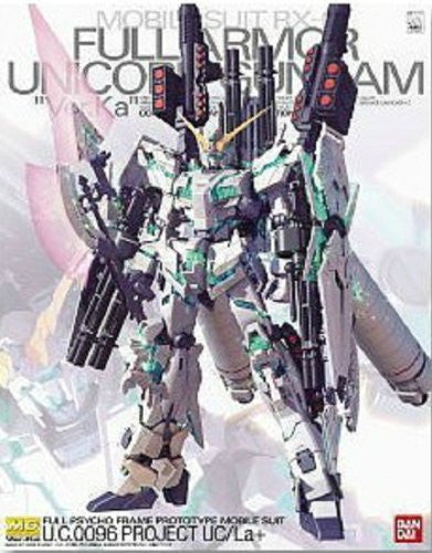 RX-0 Full Armor Unicorn Gundam Version Ka, Bandai Master Grade