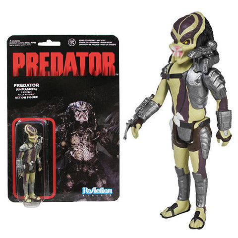 ReAction Figure Unmasked Predator