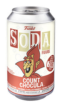 Funko Vinyl SODA: Ad Icon - Count Chocula Chance of Chase (Coming Soon) London Toy Fair Reveals