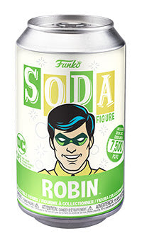 Funko Vinyl SODA: DC - Robin Chance of Chase (Coming Soon) London Toy Fair Reveals
