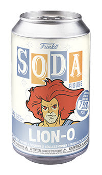 Funko Vinyl SODA: Thundercats - Lion-O Chance of Chase (Coming Soon) London Toy Fair Reveals