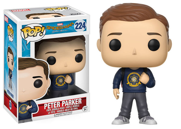 Funko Pop! Marvel Spider-Man Peter Parker