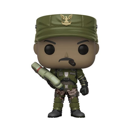Funko POP! Games: Halo - Sgt. Johnson CHASE