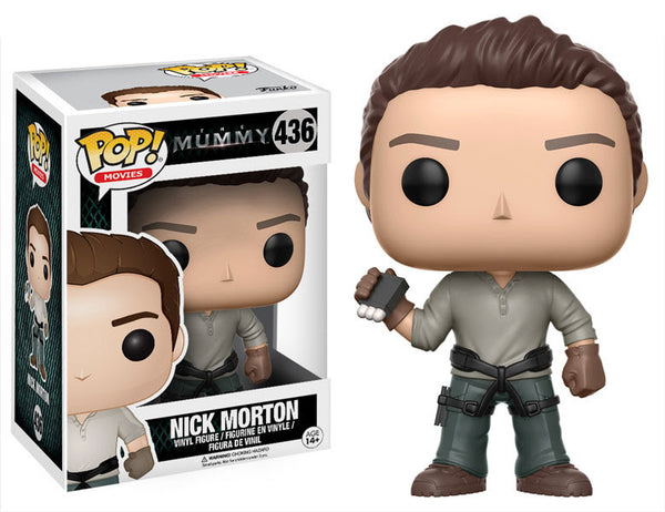 Pop! Movies Vinyl The Mummy 2017 Nick Morton