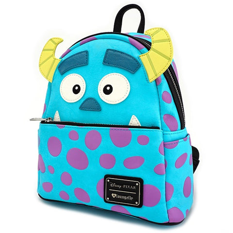 Loungefly Monsters Inc. Sully Mini Faux Leather Backpack