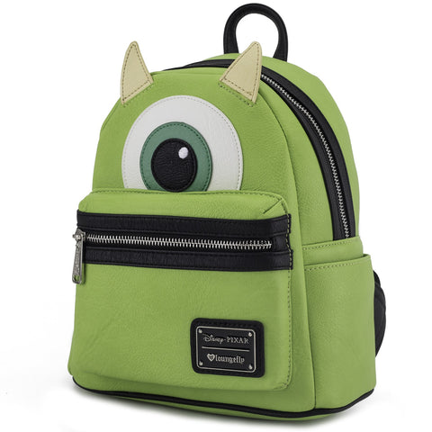 Loungefly Monsters Inc. Mike Faux Leather Mini Backpack