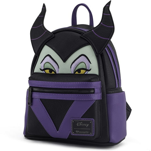 Loungefly Maleficent Mini Faux Leather Backpack