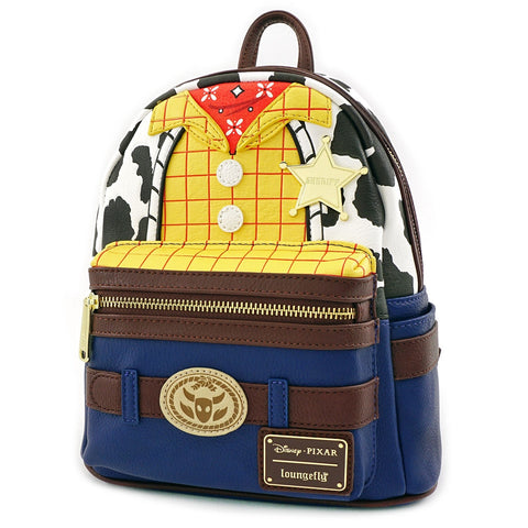 Loungefly Toy Story Woody Mini Faux Leather Backpack