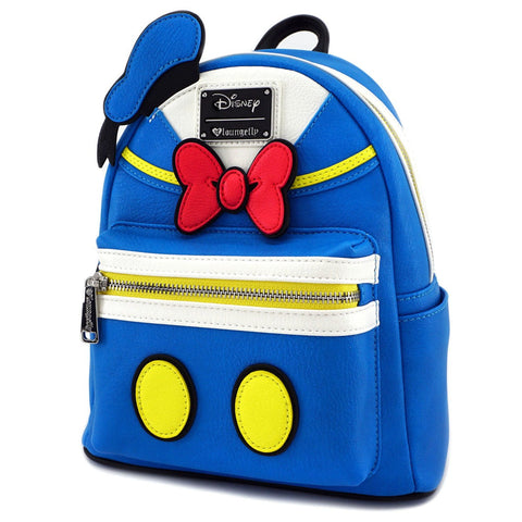 Loungefly Donald Duck Cosplay Faux Leather Mini Backpack