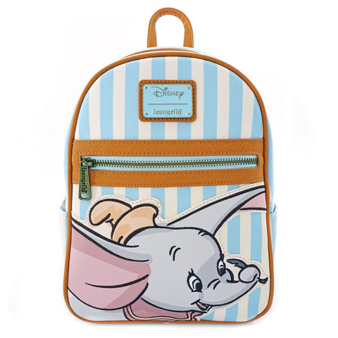Loungefly Dumbo Striped Mini Backpack
