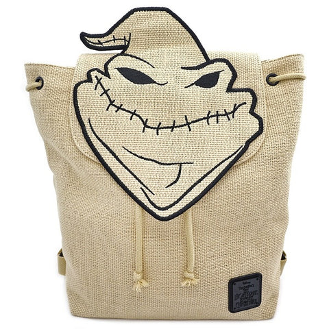 Loungefly Nightmare Before Christmas Oogie Boogie Burlap Backpack