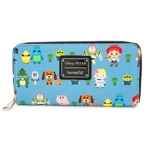 Loungefly Toy Story Chibi Print Wallet