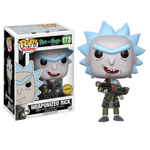 Funko POP! Animation Rick & Morty Weaponized Rick CHASE