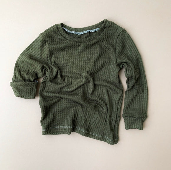 Pullover: Olive