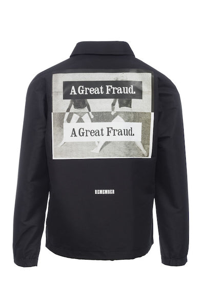 COACH JACKET - A GREAT FRAUD