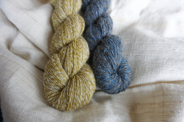 Journey Yarn Onion Skins White