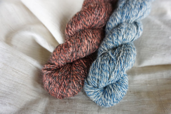 Journey Yarn Indigo White