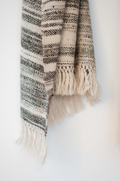 scarf, wool, lambswool, Ladakh sustainable and natural fibers, organic, ethical fashion, slow fashion,natural dyes, handspun, handspunyarn