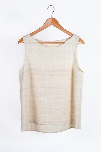 top, eri silk, sustainable and natural fibers, organic, ethical fashion, slow faschion,natural dyes, handspun, handspunyarn