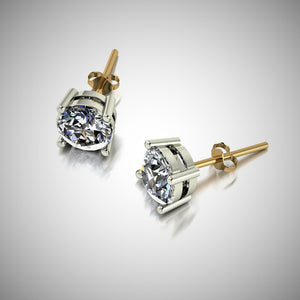 Moissanite Set Earrings