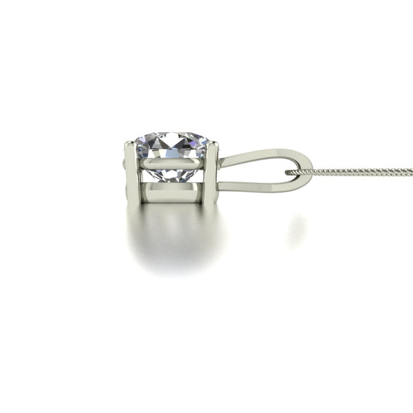 Special Order Additional Payment for 3.00ct (1x 9.0mm) Round Moissanite Set Pendant