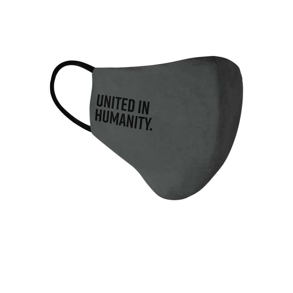 United in Humanity Face Mask