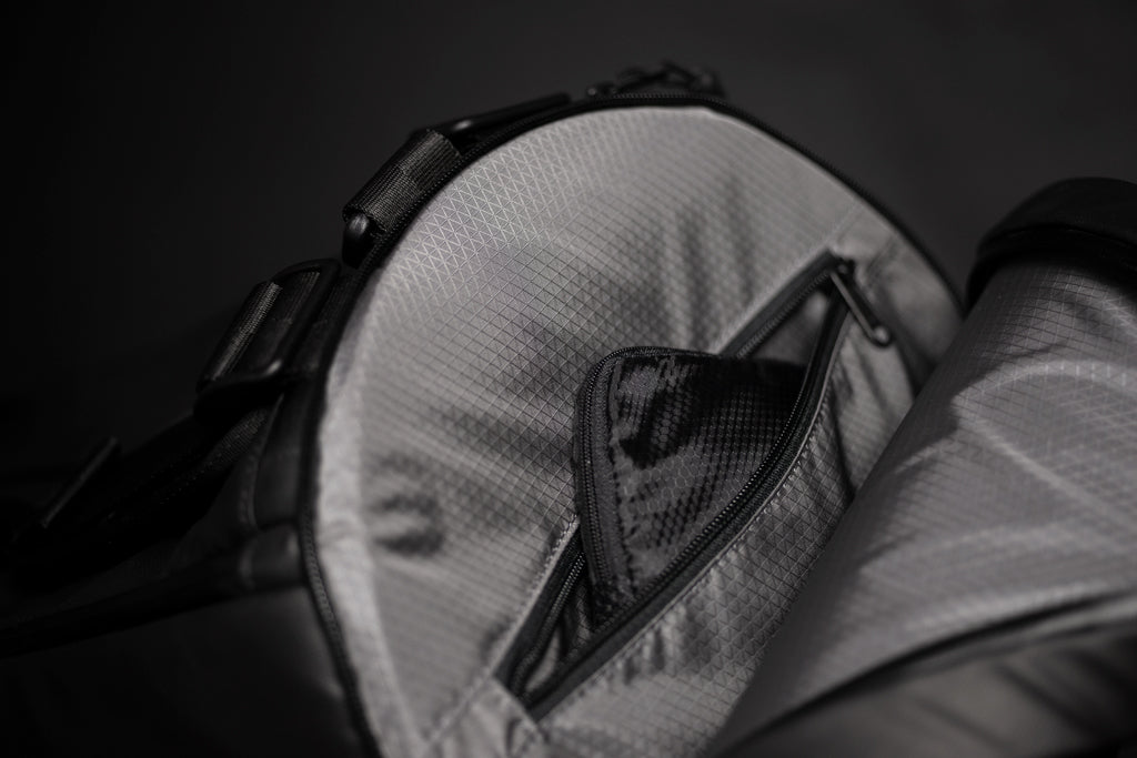 Recharged Obsidian Duffel Bag