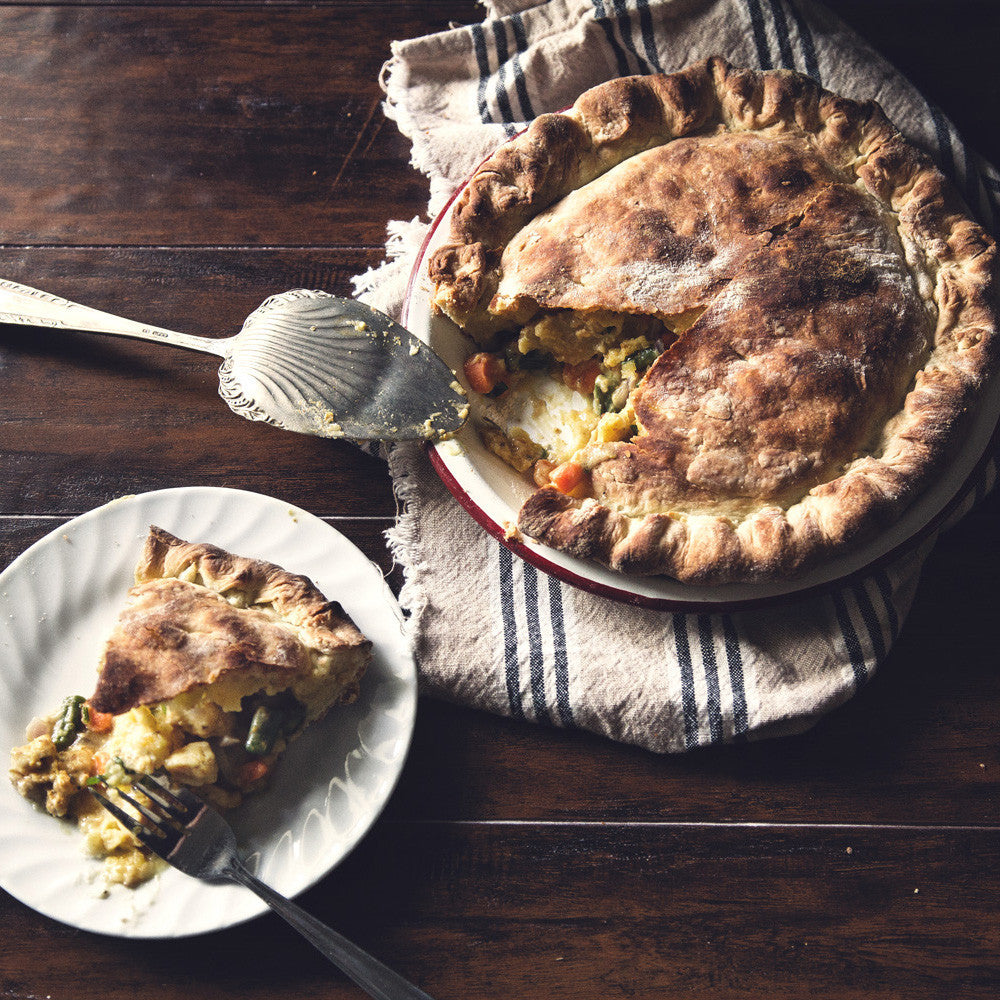 Coconut Curry Pot Pie